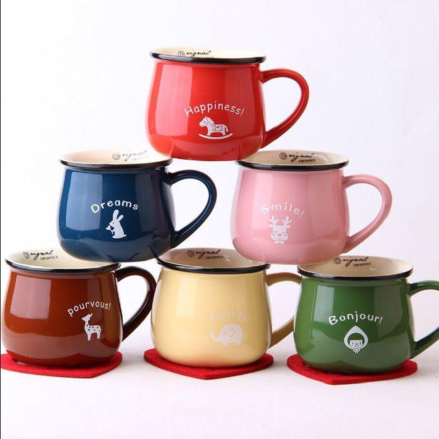 Бесплатная доставка Zakka новые производители , продающие многоцветный керамическая кружка офис кофейные чашки посуда подарок украшения дома