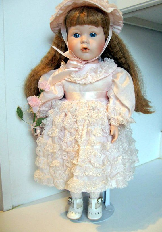 Collector Dolls Victorian Doll Porcelain Dolls for Sale, Collectible Porcelain Doll