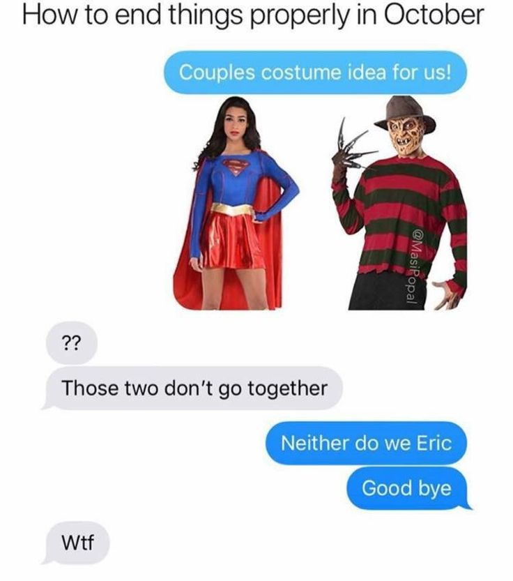 How I feel when I want to contend with my boyfriend. Supergirl costume now.Next month,clown nose.lol
