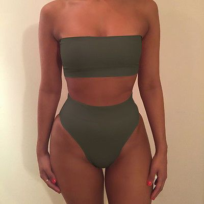 New Womens Bandage Bikini Set Push-up Padded Swimsuit Bathing Swimwear Sexy Suit