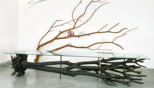 Tree Table par Sebastian Errazuriz