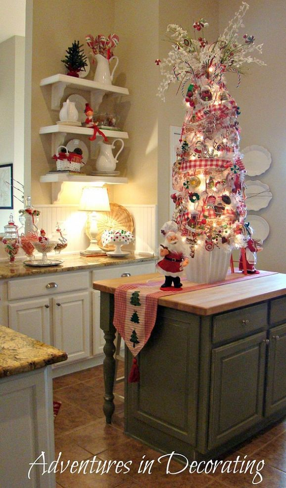 17 best ideas about christmas kitchen on pinterest farmhouse christmas kitchen christmas - Christmas decorating ideas for the kitchen ...