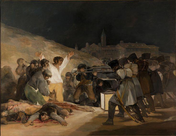 De derde Mei van 1808 - Francisco Goya