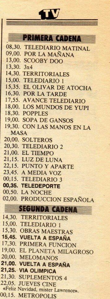 Programación TV   y.. FIN DE LA CITA!!!..