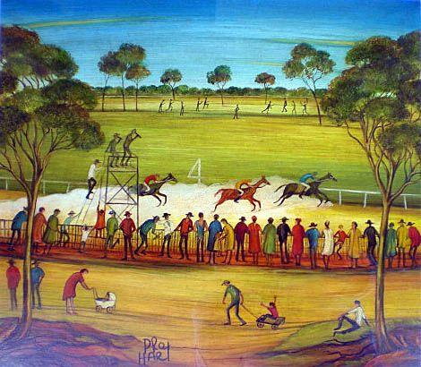 by Australian artist Pro Hart