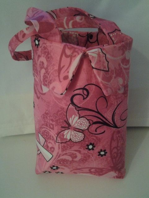 Breast Cancer Charmed Gift Bag by LovebirdsCreation on Etsy, $6.00 There are only four made get them before they are gone!
