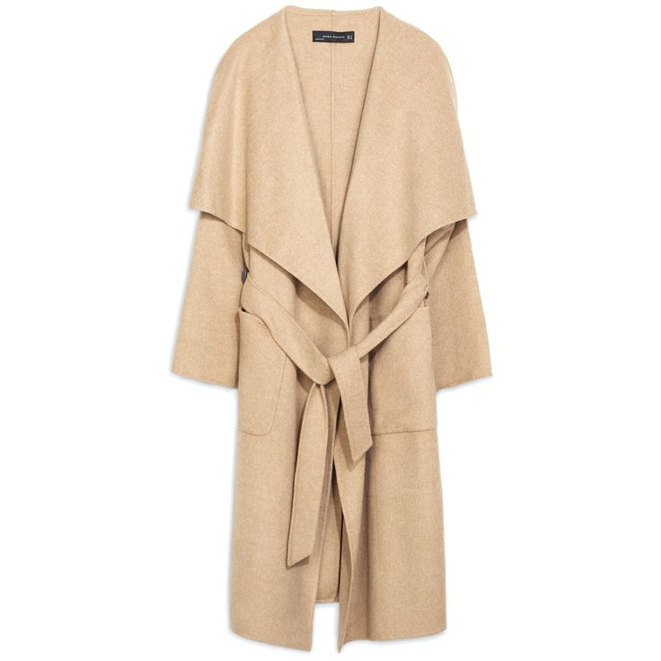 Manteau femme hiver beige Zara