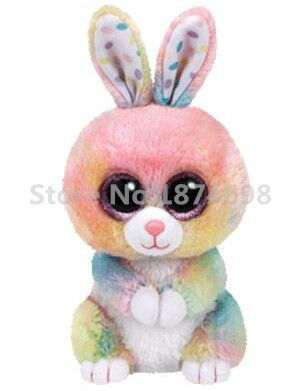 Cheap eye cute, Buy Quality big eyes directly from China rabbit stuffed animal Suppliers: Beanie Boos Plush Animals Multicolor Bunny 6'' 15cm Big Eyes Cute Easter Rabbit Stuffed Animal Kids Toys Children Gifts