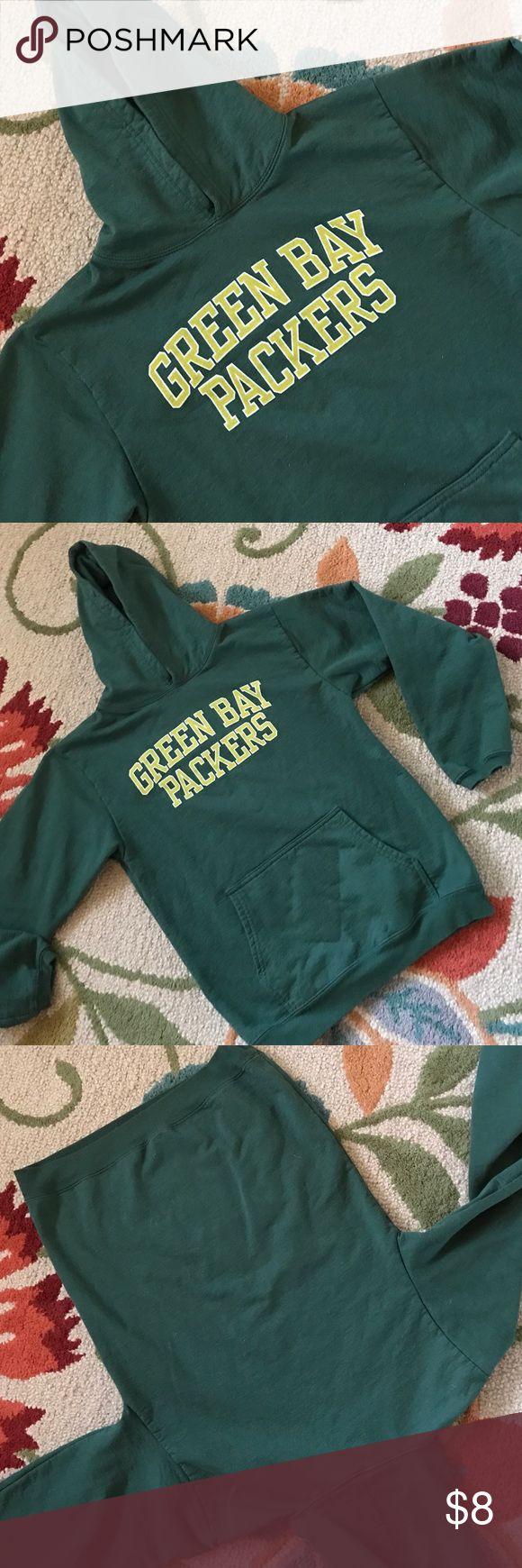 Green Bay Packers hoodie Pullover hoodie Reebok Shirts & Tops Sweatshirts & Hoodies