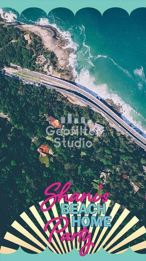 Geofilters and beach parties?! Yes please! #snapchat #snapchatfilter #snapchatgeofilter #partyideas #partyplanner #party #geofilter #snapchatfilter