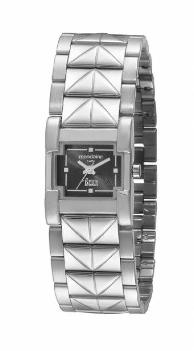 69211L0MFNE2 Relógio Feminino Prateado Mondaine