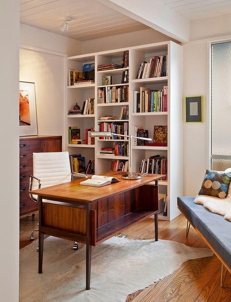 Mid Century Modern Home Office Ideas 228 best office essentials images on pinterest | mid century