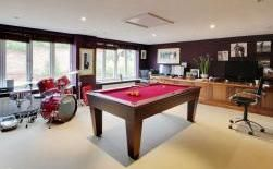 Crowbourne Grange - Office, movie room, games room.  The indoor mans den.