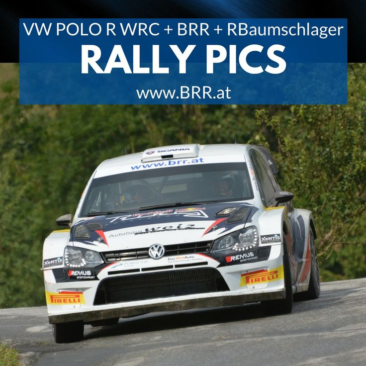 VW POLO R WRC RALLY RAIMUND BAUMSCHLAGER 2017 - RALLY CHAMPION