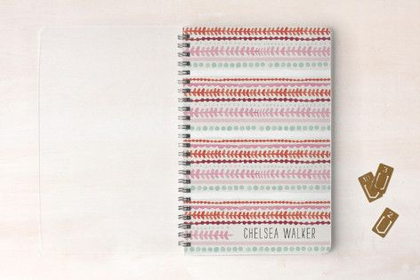 Striped Lines Day Planner, Notebook, or Address Book