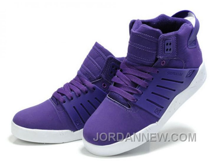 Supra Skytop 3 Purple White Top Deals KnxjR