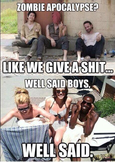 Walking Dead cast awesomeness