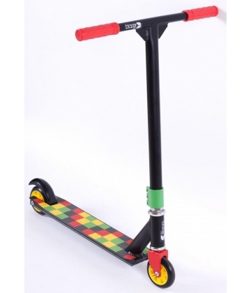 Blazer Pro Fixed Scooter - Kingston Rasta | JD Bug Scooters - Micro, Blunt, Slamm & Madd Gear Pro at Skatehut | Cheap Scooters For Sale - Buy Now from Skatehut UK | Skatehut