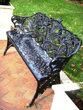 1000 ideas about iron patio furniture on pinterest. Black Bedroom Furniture Sets. Home Design Ideas