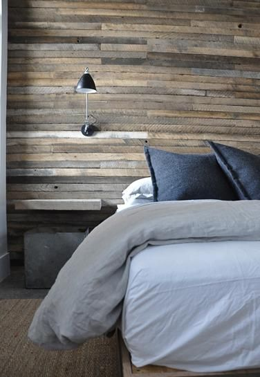 This is an awesome idea for a bedroom wall.