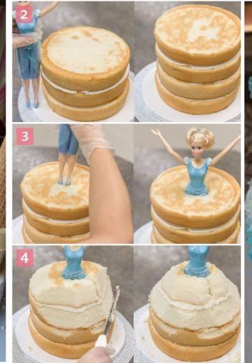 10 Merveilleuses inspirations de gâteaux sous le thème de: Elsa! La Reine des Neiges!