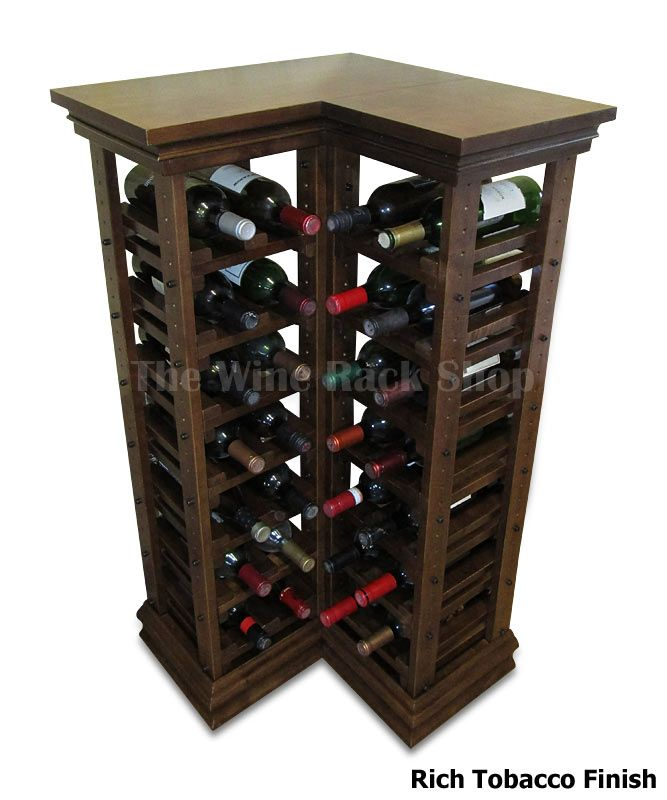 28 Bottle Corner Wine Rack 43 12h X 22 18w X 10d Fit This Rack