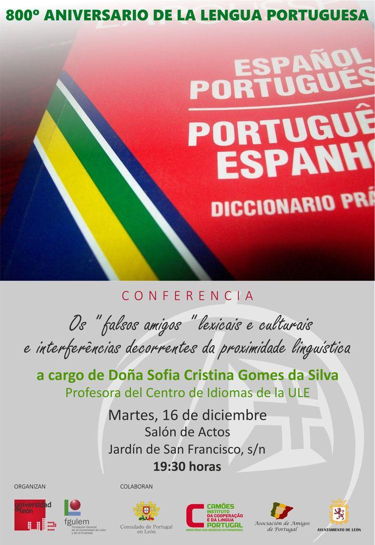 El ciclo de conferencias sobre el 800º Aniversario de la Lengua Portuguesa continúa el próximo martes 16 en el Centro de Idiomas de la ULE