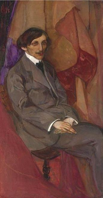 Борис Анисфельд. Архитектор Моисей Викторович Zamietchek. 1915-16 гг.
