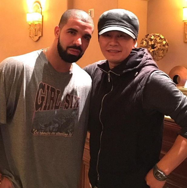 Yang Hyun Suk Takes a Selfie with Rapper Drake | Koogle TV