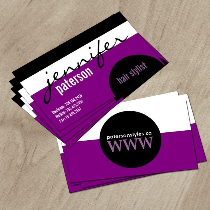 25+ best Hair Salon Business Card Templates images by Colourful ...