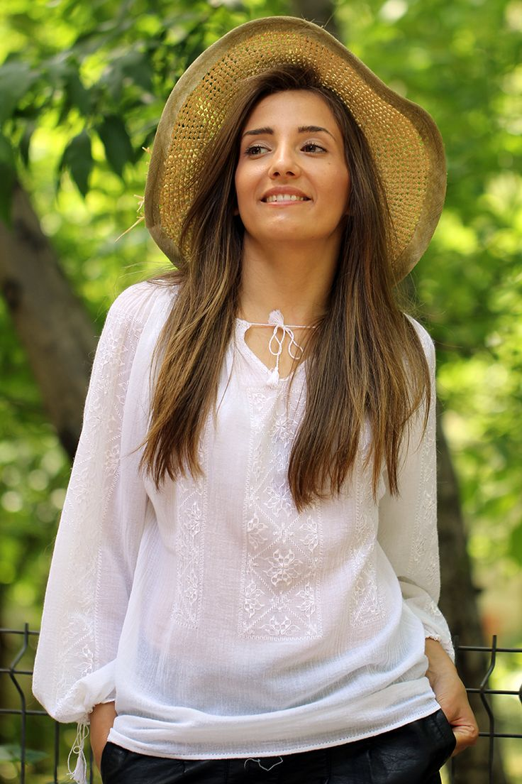 Romanian Blouse - Irina