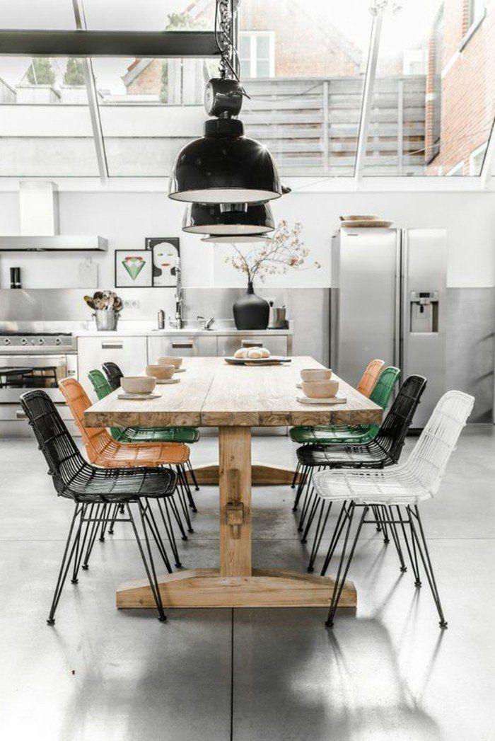 Les 25 meilleures id es concernant cuisines en bois clair sur pinterest cui - Verriere interieure pas cher ...