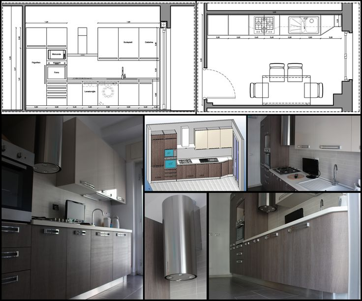 Una cucina lineare e moderna: dal progetto alla realizzazione.