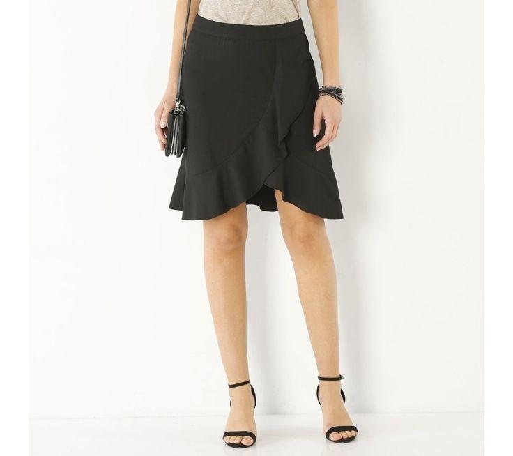 Volánová sukňa s púzdrovými efektom | blancheporte.sk #blancheporte #blancheporteSK #blancheporte_sk #novákolekcia #jar #leto