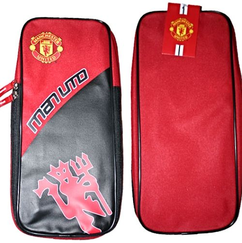 Manchester United MAN UTD Boot Bag with Red Devil Crest