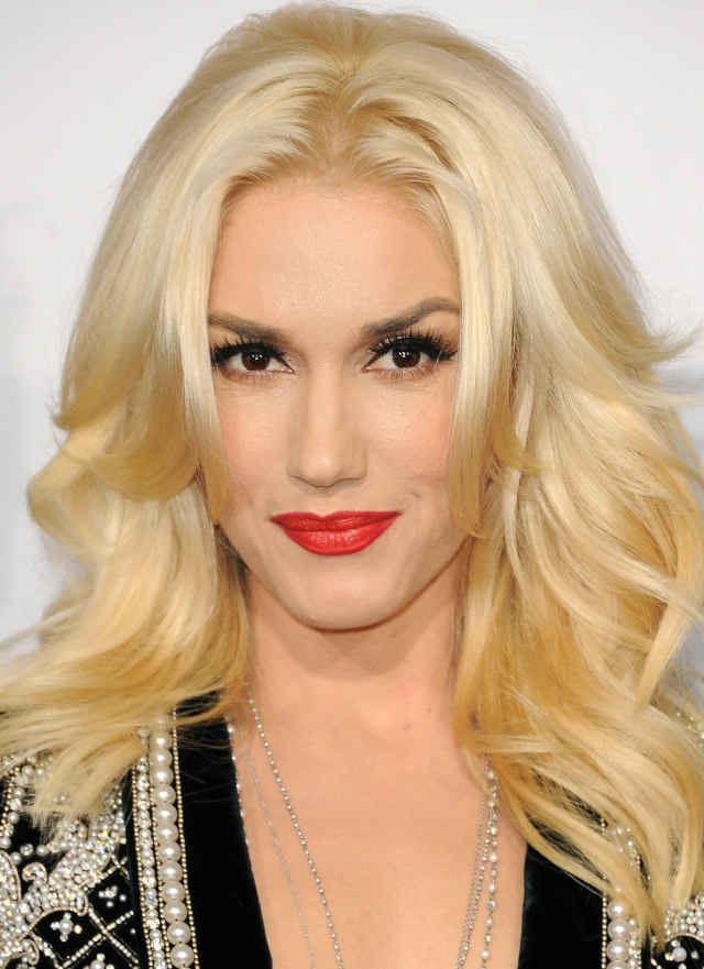 Gwen Stefani at the 2013 American Music Awards.