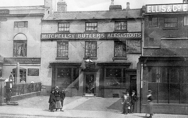 The Leopard Inn Great Hampton Street Birmingham England 1901.