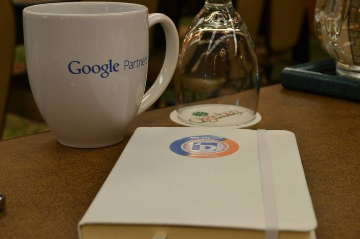 Google Partners Mug and Direct Online Markting Notebooks!