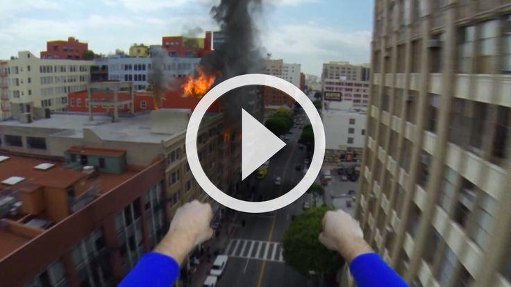 Superman con la GoPro   Urban Jungle