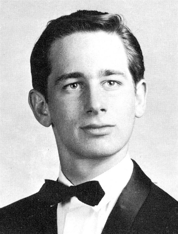 Commanding attention Steven Spielberg struck a commanding pose for his senior photo, taken in 1965 for Saratoga High School in Saratoga, California. The acclaimed director went on to win three Academy Awards.