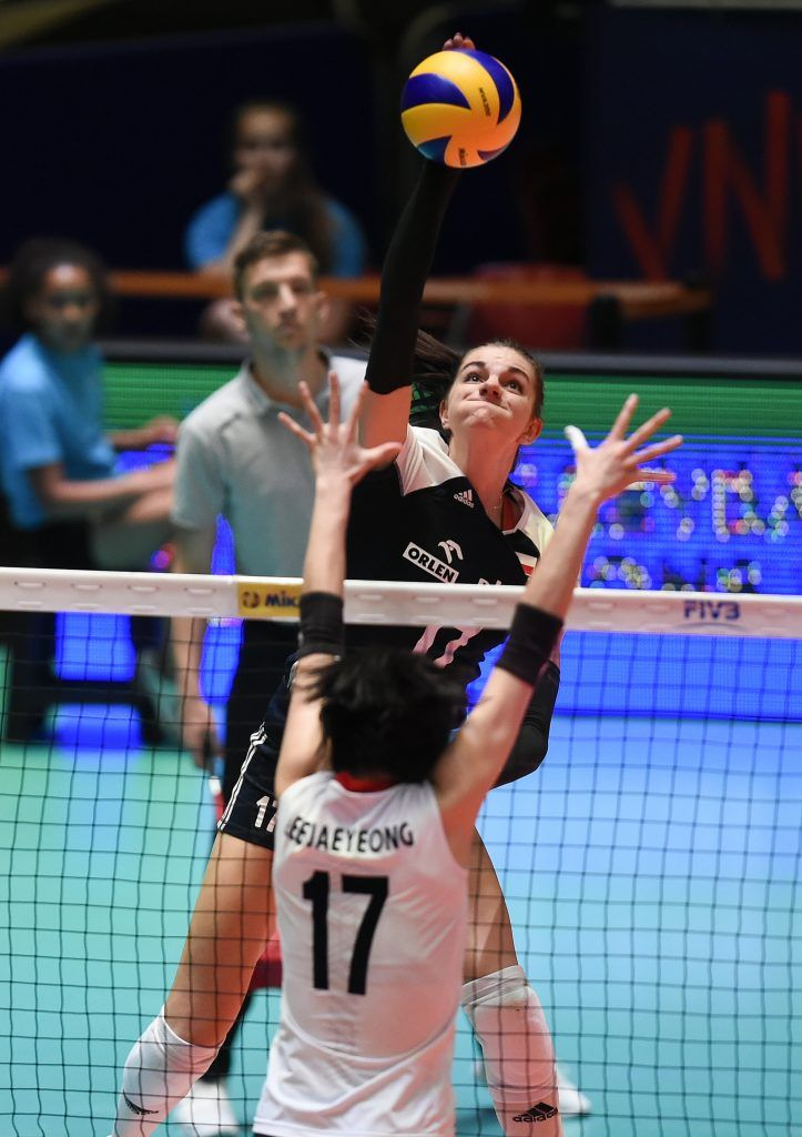 Smarzek Thunders 19 Points As Poland Crush South Korea Korea Crushes South Korea