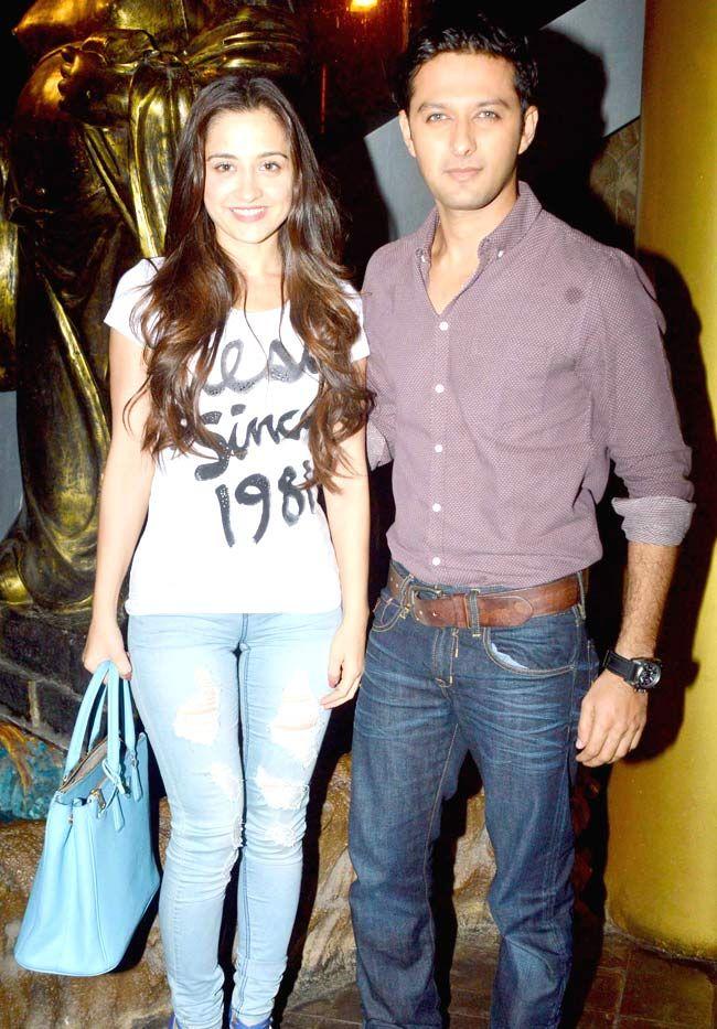 'Ek Haseena Thi' lead pair Sanjeeda Sheikh and Vatsal Sheth at the launch of 'Khushnuma'. #Bollywood #Fashion #Style #Beauty