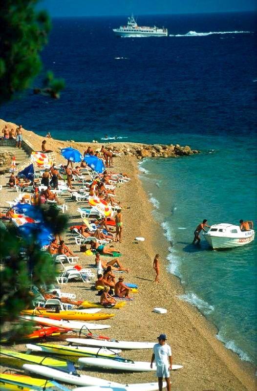 The beautiful beaches of Croatia