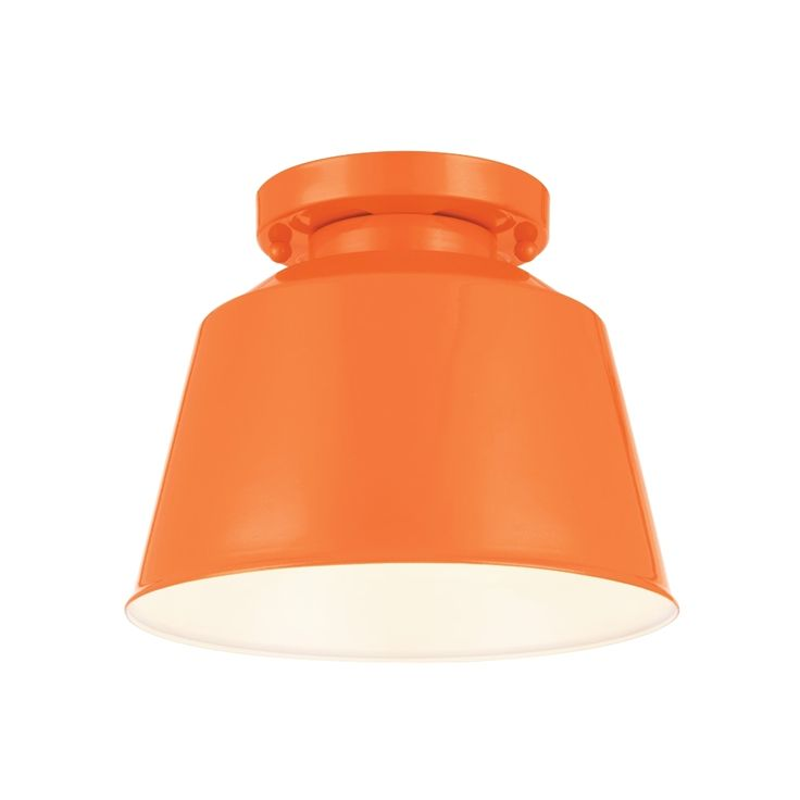 semi pendant light glossy orange finish. Freemont Semi Flush Mount Is Available In A High Gloss Orange, Blue,. Outdoor Ceiling LightsSemi Pendant Light Glossy Orange Finish D