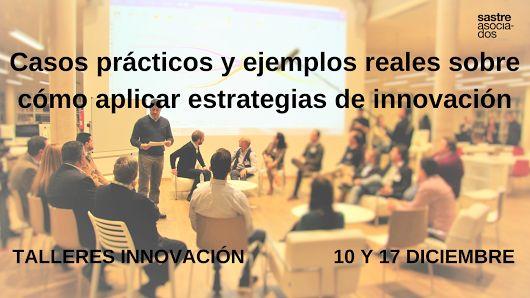 ¿Cómo aplicar estrategias de innovación? #talleres IVACE los días 10 y 17 Diciembre #pymes #empresas
