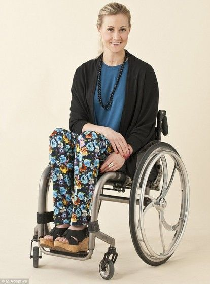 Photo Of Young Woman Who Uses A Wheelchair Designer Is