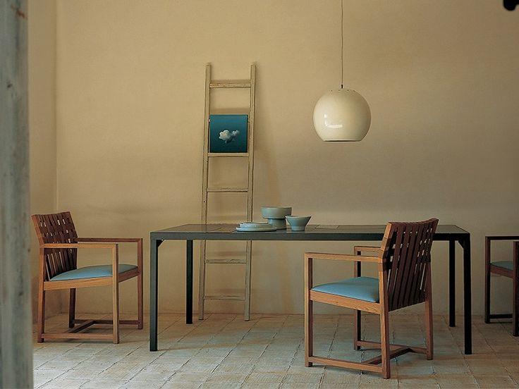 Garden table FLAT Collection by RODA | design Rodolfo Dordoni