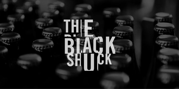 The Black Shuck Craft Beer. Packaging. Beer Bottle. Brand Mark. Typography. Designed by White is Black.