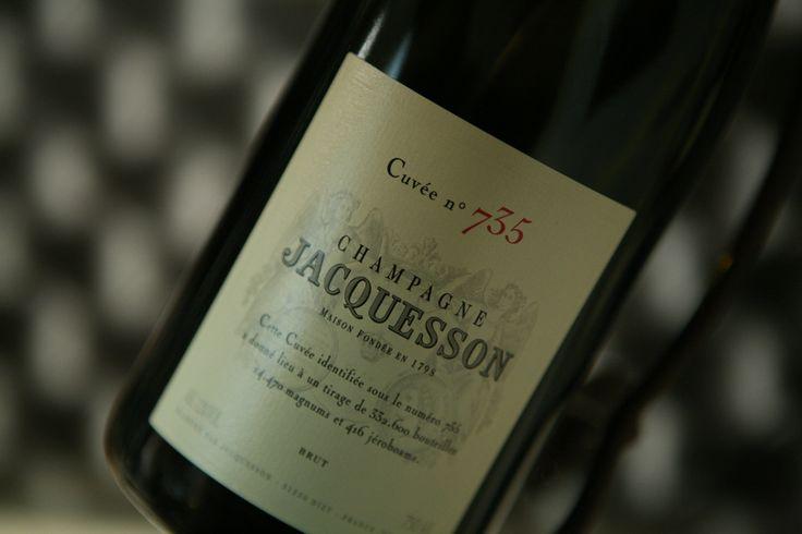Champagne Jacquesson Cuvée n°735 brut. Domaine Jacquesson #champagne