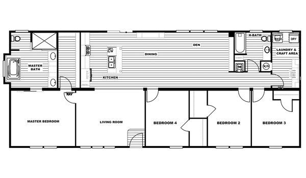 Patriot The Revere By Southern Energy Homes Modularhomes Com Prefab Homes For Sale Floor Plans Install Kitchen Faucet